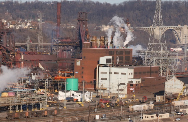 Pittsburgh steel mill