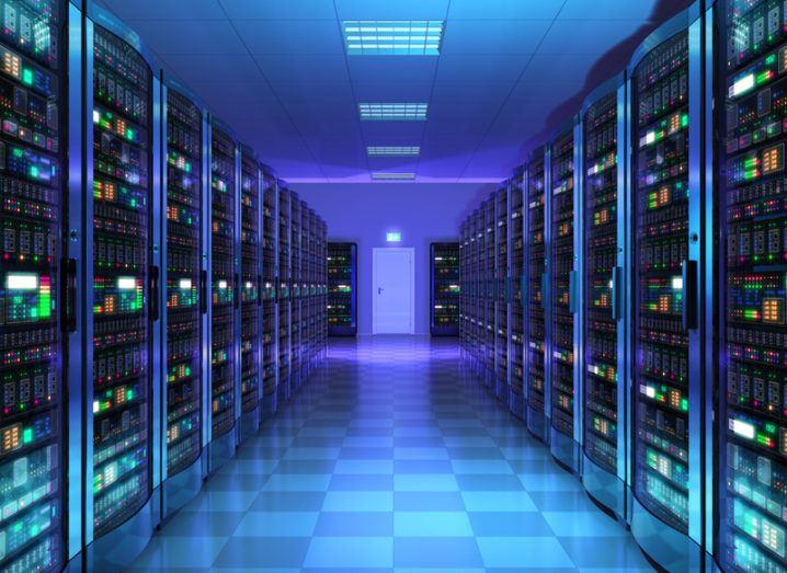 Silicon Valley server room
