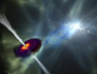 DCU-led team finds answer to puzzling origin of supermassive black holes