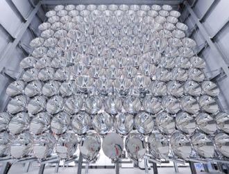 German group unveils enormous artificial sun for future renewable energy