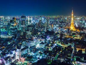 Tokyo skyline. Slush Tokyo pitch event was won by Dot Inc. Image: ESB Professional/Shutterstock