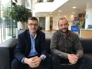 From left: Yedup founders Dr Martin Spollen and Paul McWilliams. Image: Yedup