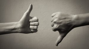Career: thumbs up, thumbs down