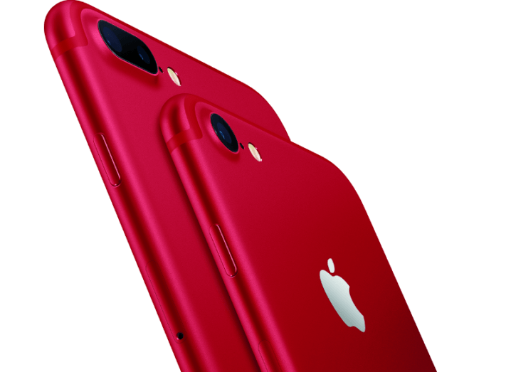 Apple red iPhone 7 out on March 24, 2017