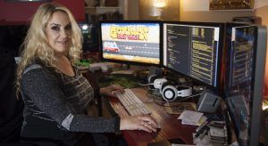 Brenda Romero is receiving a BAFTA for her contribution to gaming. Image: Andrew Downes, XPOSURE