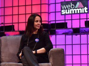 Sarah Friar pictured at Web Summit