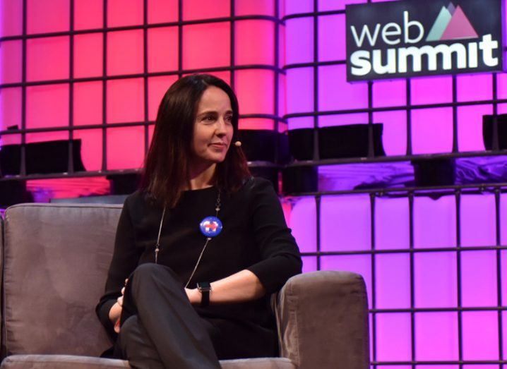 Sarah Friar pictured at Web Summit