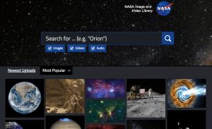 NASA library