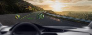 WayRay develops holographic dashboard displays. Image: WayRay