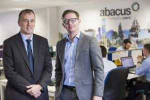From left: Abacus directors Alan Braithwaite and Justin Rush. Image: Abacus