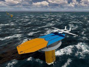 Airborne wind energy drones