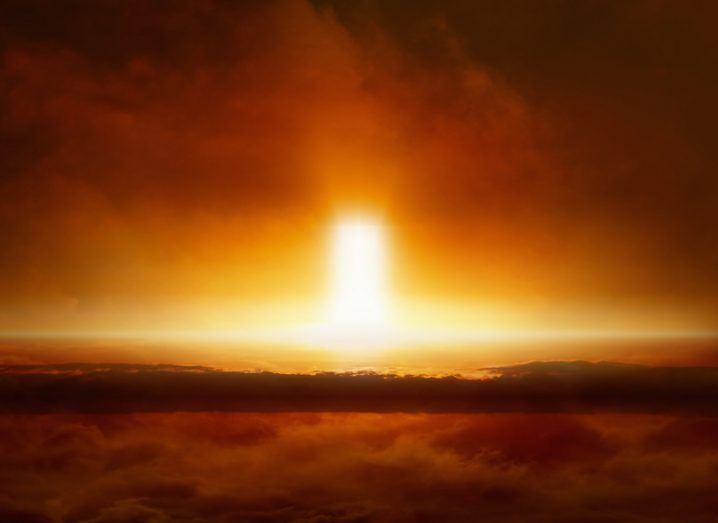 Illustration of alien atmosphere