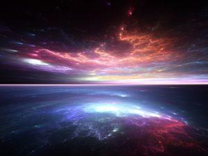 Alien ocean illustration