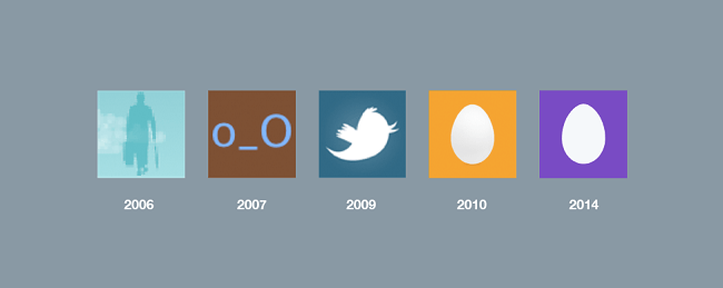 Twitter Avatar evolution