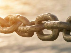 Chain. Image: Antony Watman/Shutterstock