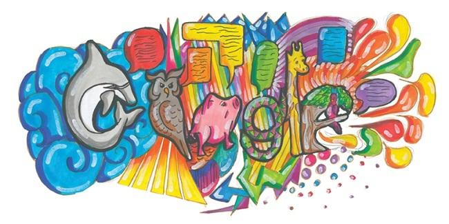 Doodle 4 Google group 3 winner