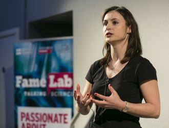 Deirdre Robertson wins Irish leg of FameLab for unfreezing our brains