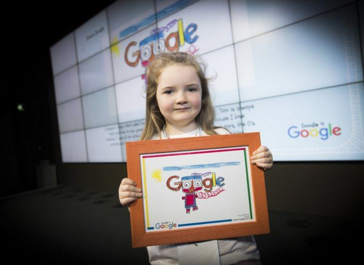 Adorable 'My Happy Robot Tom' named Irish Doodle 4 Google winner