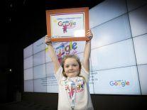 'My Happy Robot Tom' is today's glorious Google Doodle