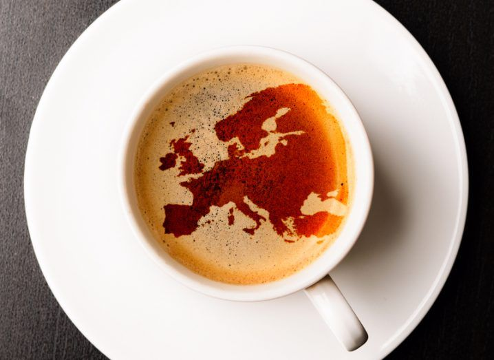 Europe in a coffee cup
