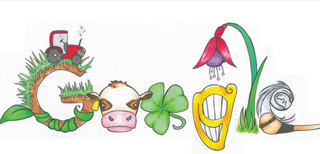 Mia Buckley's 2016 winning Doodle 4 Google