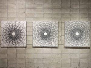 'Macro and Micro, Pencil on Canvas'. Image: Cheolwon Chang