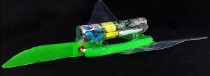 Manta ray robot