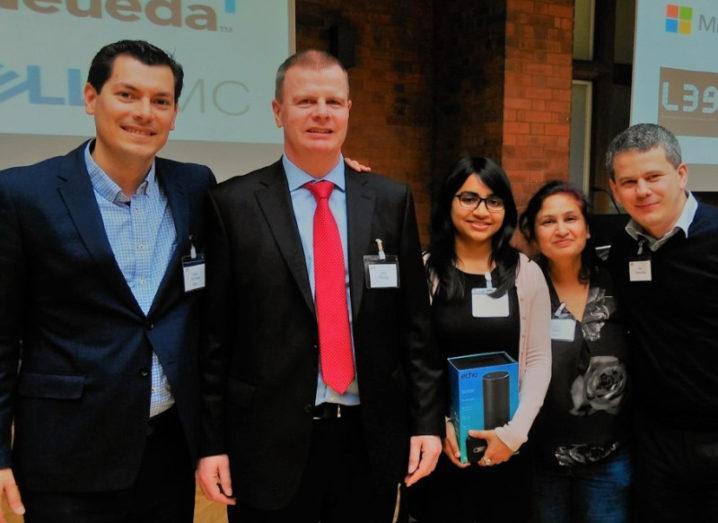 NCI start-up Codaline come out tops at Citi upStart battle