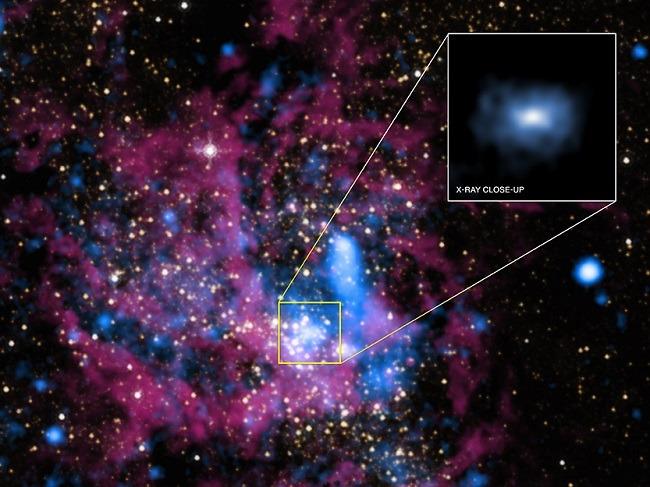 Sagittarius A image