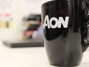 Aon mug. Image: Luke Maxwell