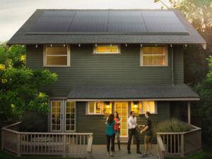 Tesla partnered with Panasonic for this solar panel project. Image: Tesla
