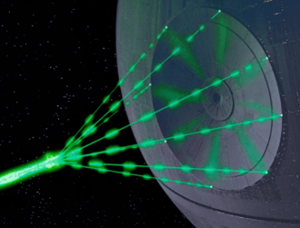 Researchers find Star Wars 'superlaser' is actually possible