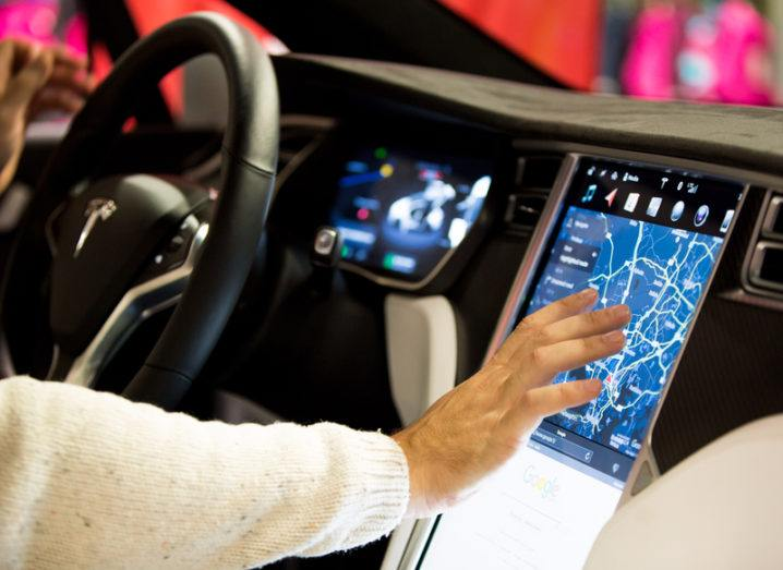 Tesla screen