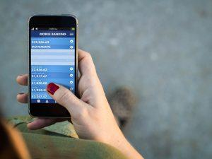 Instant payments: mobile banking app