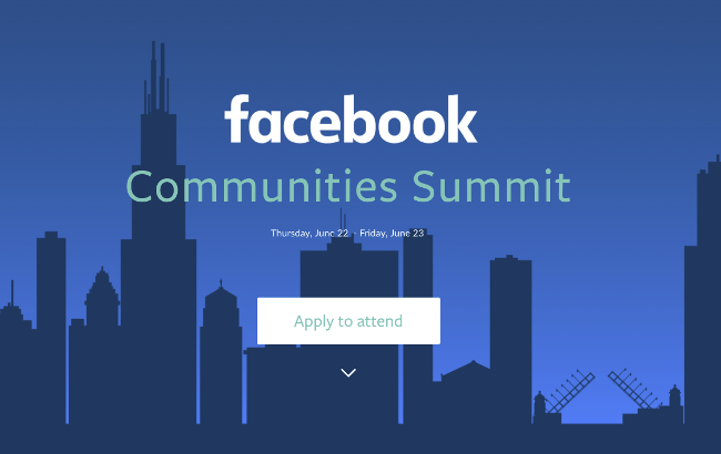 Facebook to hold its first-ever Communities Summit in Chicago
