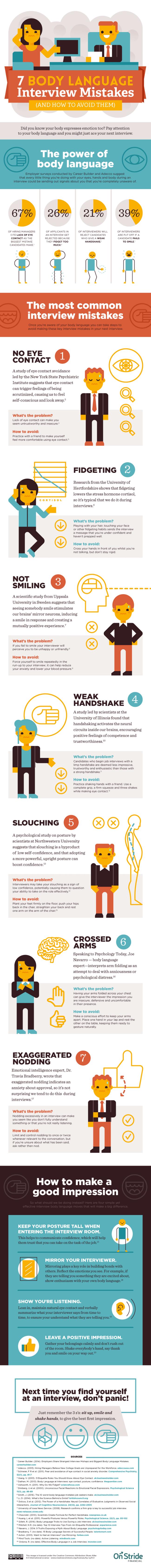 7 body language