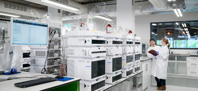 APC's analytical lab