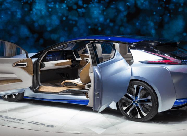 Autonomous car Nissan