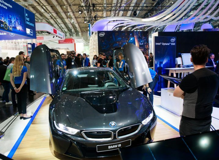 IoT and autotech: BMW i8