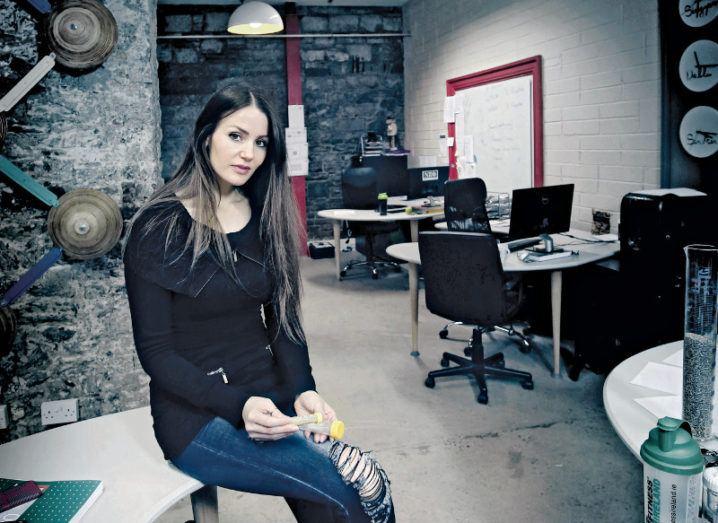 Dr Nora Khaldi, Nuritas founder and chief science officer. Image: Nuritas