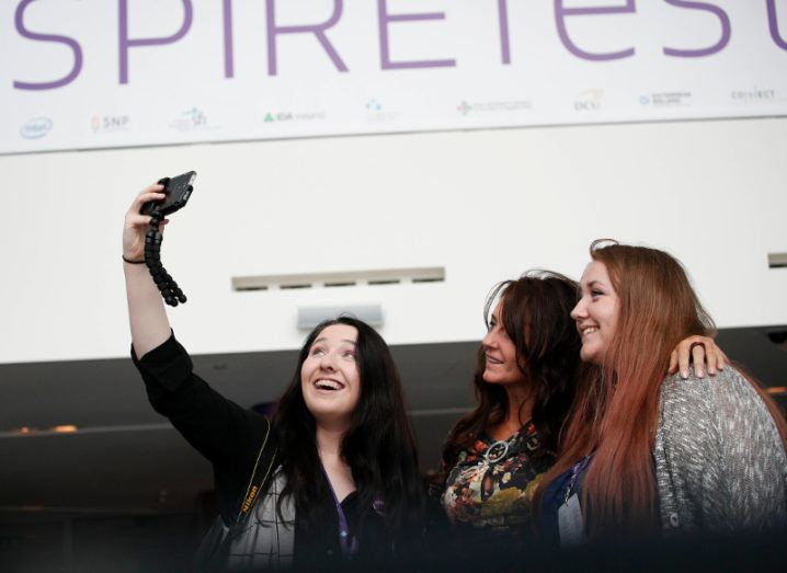 Attendees at Inspirefest 2016. Image: Conor McCabe Photography