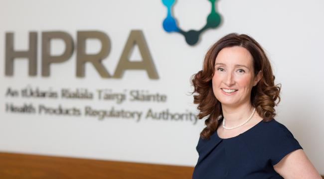 Lorraine Nolan, chief executive of HPRA. Healthcare