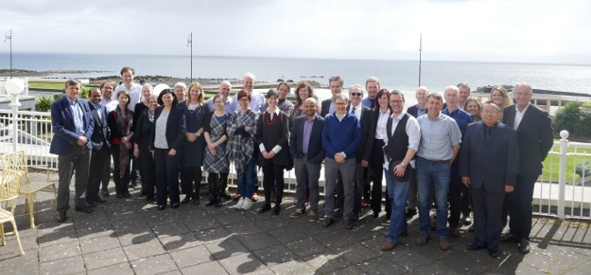 Members of the international Nephstrom team in Galway. Image: NUI Galway
