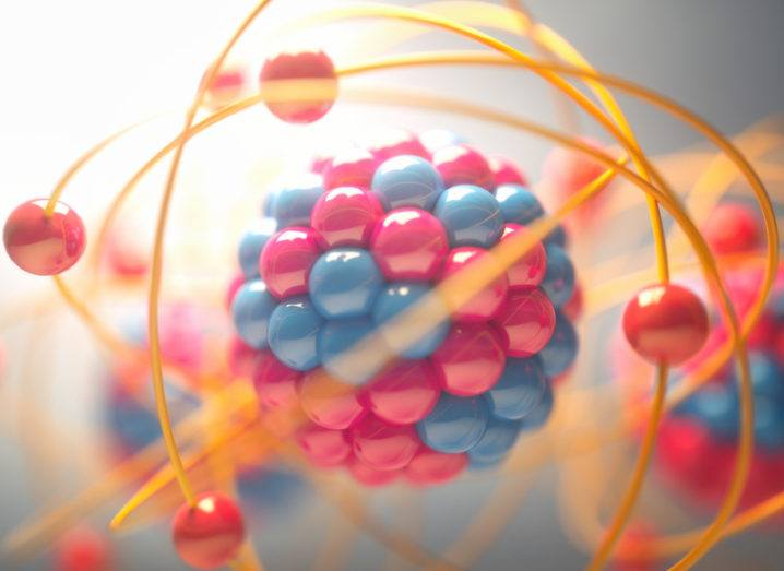 Illustration of an atom
