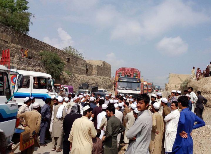 Pakistani Afghan border