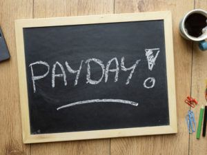 Payday sign. Image: Brt/Shutterstock