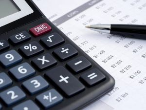 Payroll with calculator