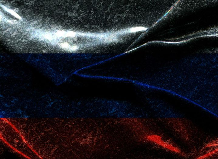 Russia flag. Image: Midiwaves/Shutterstock