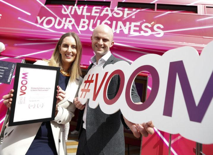 Breastfeeding start-up Coroflo wins Dublin leg of Voom Tour