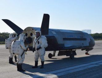 Experimental US Air Force spacecraft returns with a boom after two-year mission